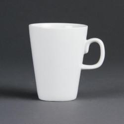 """Tasse """"Latte"""" sans soucoupe porcelaine blanche 340ml (12 pces)"""