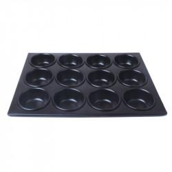 Moule à muffins 12 pièces anti-adhésif