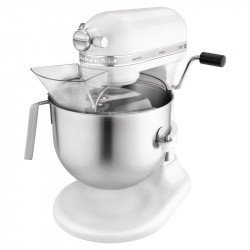 Batteur professionnel Kitchenaid - 970W bol 6.9L blanc KITCHENAID Batteurs