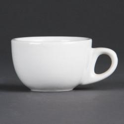 Lot de 12 tasses à espresso 85 ml - porcelaine OLYMPIA Collection Whiteware
