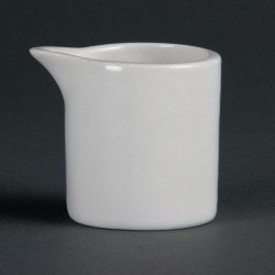 Lot de 6 pots à lait blancs 57 ml - porcelaine