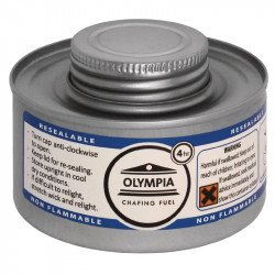 Olympia Chafing combustible liquide 4 heures (colis de 12) HAZ