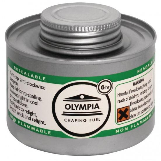 Olympia Chafing combustible liquide 6 heures (colis de 12) HAZ