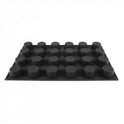 Moule à pâtisserie antiadhésif Pavoflex 24 muffins silicone