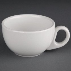 Lot de 24 tasses à cappuccino 228ml Hotelware porcelaine