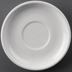 Lot de 24 soucoupes 145mm Hotelware porcelaine
