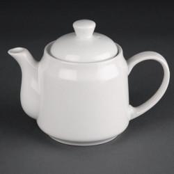 Lot de 4 théières/cafetières Hotelware 430ml porcelaine