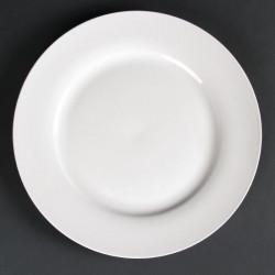 Lot de 6 assiettes rondes à bord large Lumina 270(Ø)mm