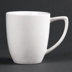 Tasse de style Latte Lumina en porcelaine fine - 350 ml (Boîte de 6) LUMINA FINE CHINA Tasses