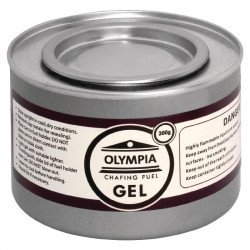 12 X Gel combustible éthanol pour chauffe-plat Olympia 200g