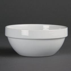 Bol à céréales empilable Olympia Blanc 140 mm 540 ml (boîte de 12)