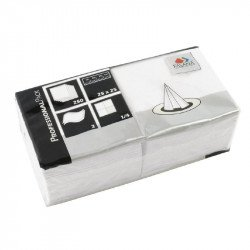 Fasana Napkin White 2Ply 1/4Fold - 250x250mm (Box 1500)