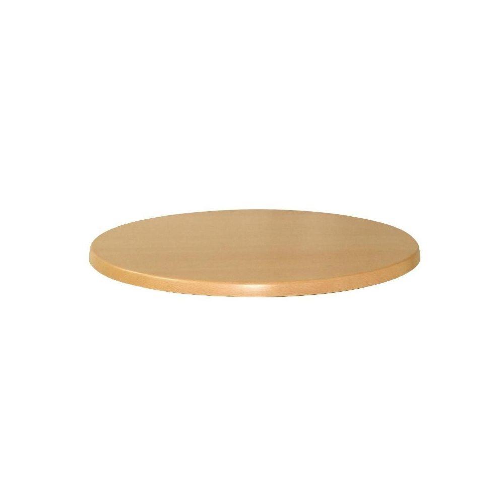 plateau de table rond werzalit h tre 700mm werzalit plus. Black Bedroom Furniture Sets. Home Design Ideas