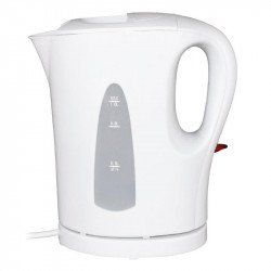 Caterlite Hotel Room Kettle - Plastic 1.0L White