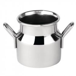 Mini Milk Churn Stainless Steel Small - 60ml 2oz 45(dia) x 45(h)mm