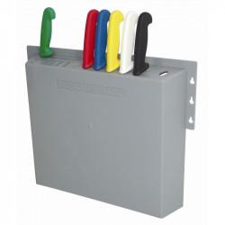 Rangement couteaux en plastique 14 positions HYGIPLAS Sacoche et mallettes à couteaux