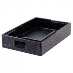 Boîte Thermobox noire Salto GN 12cm