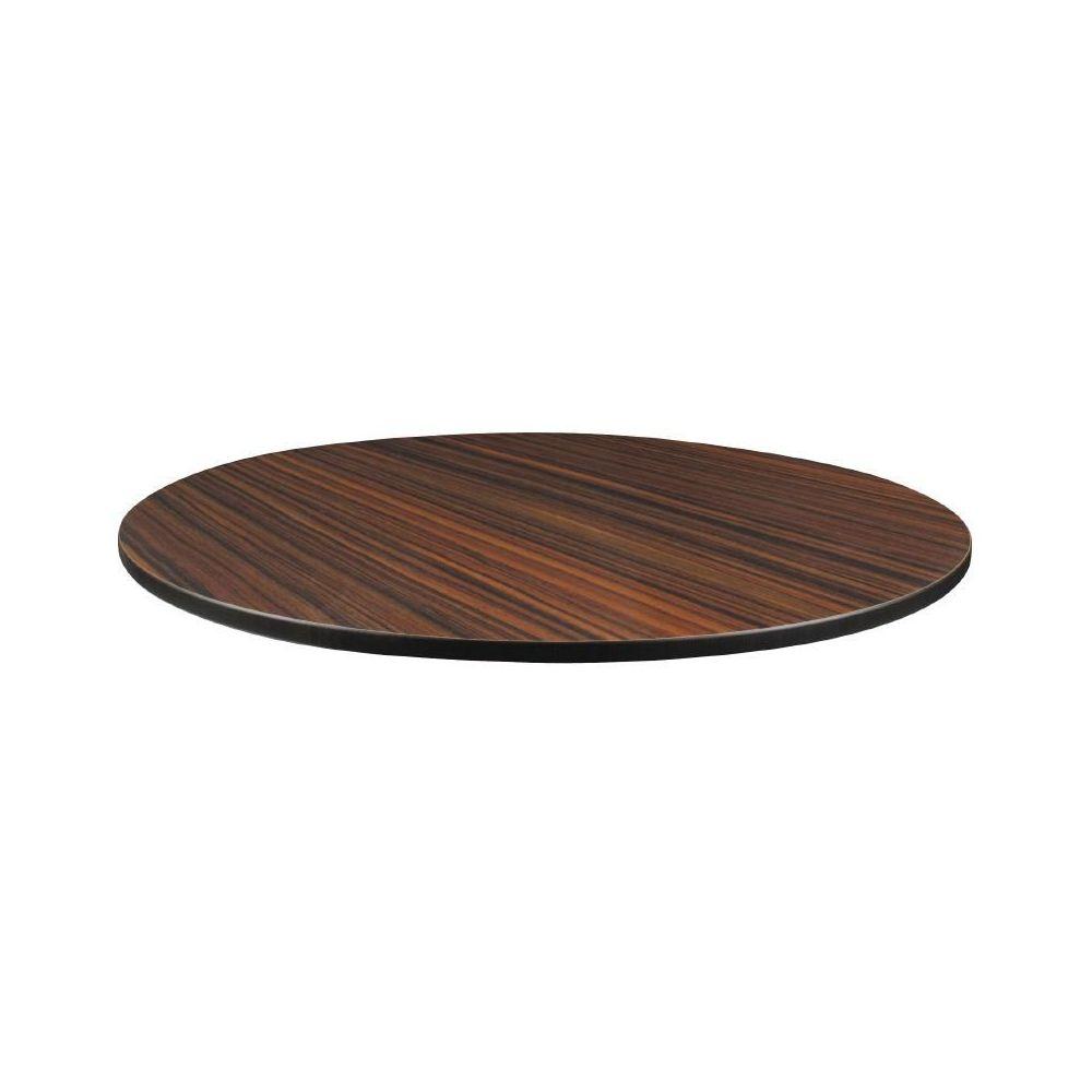 plateau de table ext rieur rond 600mm compact paisseur 13mm b ne. Black Bedroom Furniture Sets. Home Design Ideas