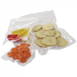 Lot de 50 sacs d'emballage sous vide gaufrés L 150 x P 350 mm - Vogue VOGUE Gastro Pret