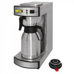 Machine à café Buffalo et pichet thermos 1,9 ltr