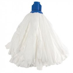 Grand mop traditionnel blanc / bleu - JANTEX