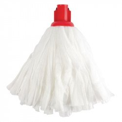 Grand mop traditionnel blanc / rouge - JANTEX