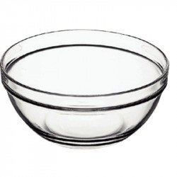 Saladiers en verre Ø 9cm (126ml) (Box 6)