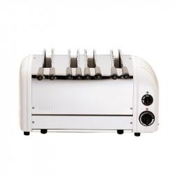 Toaster Dualit 4 fentes blanc