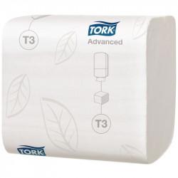 Paquet papier hygienique blanc Tork 250 feuilles (lot de 30)