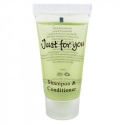 Shampoing/après-shampoing 'just for you' 20 cl (par 100) EQUIPEMENT DIRECT gastro