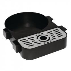 Bac de récupération pour pichets à pompe inox OLYMPIA Carafes et pichets