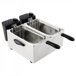 Friteuse double bacs 2 x 3,5 Litres