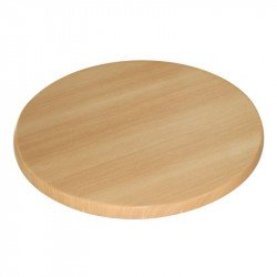 Plateau de table rond Bolero 600mm (hetre)
