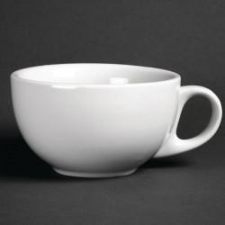 Lot de 12 tasses à cappuccino 285ml Hotelware porcelaine