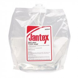 Savon mousse anti-bacterien Jantex (6x800ml)