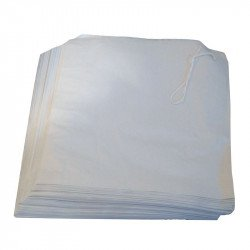 White Paper Bags 175mm x 175mm (Box 1000) EQUIPEMENT DIRECT gastro