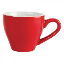 Tasse a espresso Olympia rouge - 100ml (lot de 12)