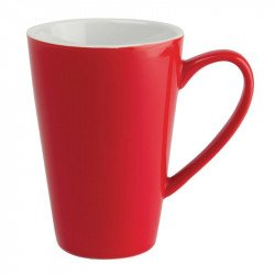 Mug Olympia rouge - 454ml (lot de 12)