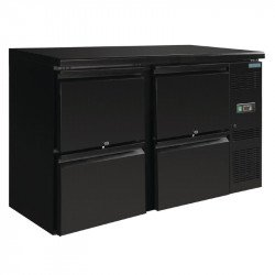 Arrière-bar 4 tiroirs