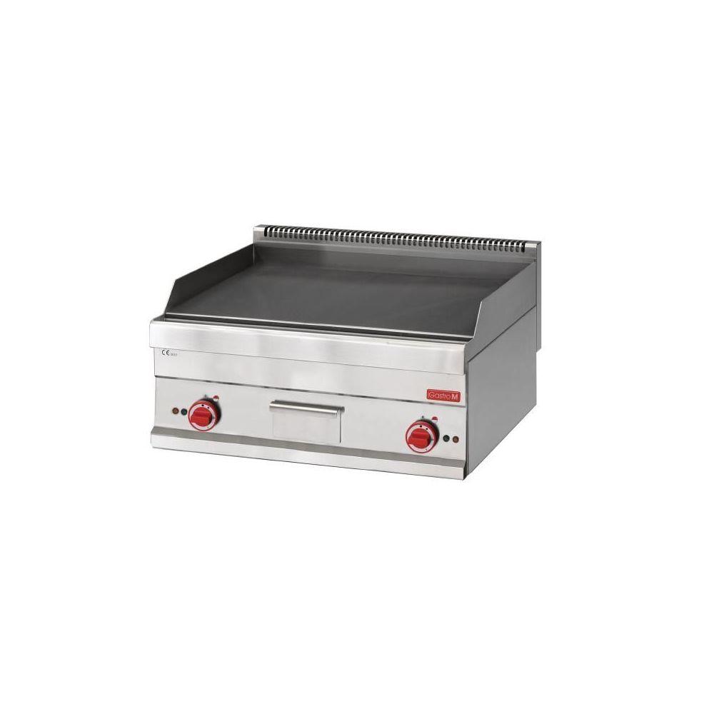Barbecue A Gaz Ou Electrique plancha de table gastro-m fry-top plaque lisse gastro-m gaz