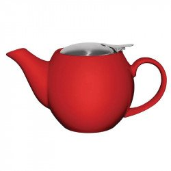 Olympia Cafe teapot red 510ml 18oz (box 4)
