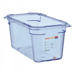 Aravan ABS (BPA Free) Blue Container G/N - 1/4 150mm