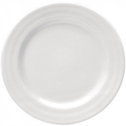 Lot de 4 Assiettes Intenzzo blanches 250mm INTENZZO Collection Intenzzo