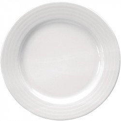 Lot de 4 Assiettes Intenzzo blanches 270mm INTENZZO Collection Intenzzo