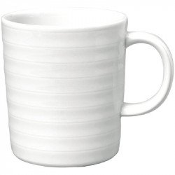 Intenzzo White mug 33 cl (Box 4) INTENZZO Mugs