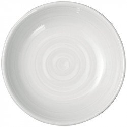 Lot de 4 assiettes à beurre 90mm Intenzzo blanches
