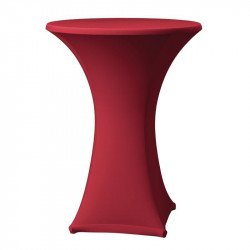 Housse de table bordeaux Samba