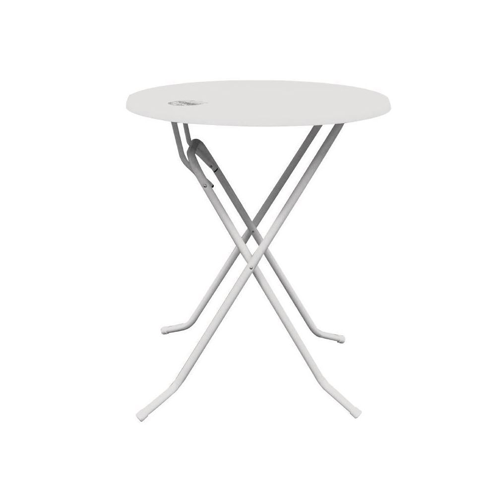 table haute dubai 70cm blanche geen merk. Black Bedroom Furniture Sets. Home Design Ideas