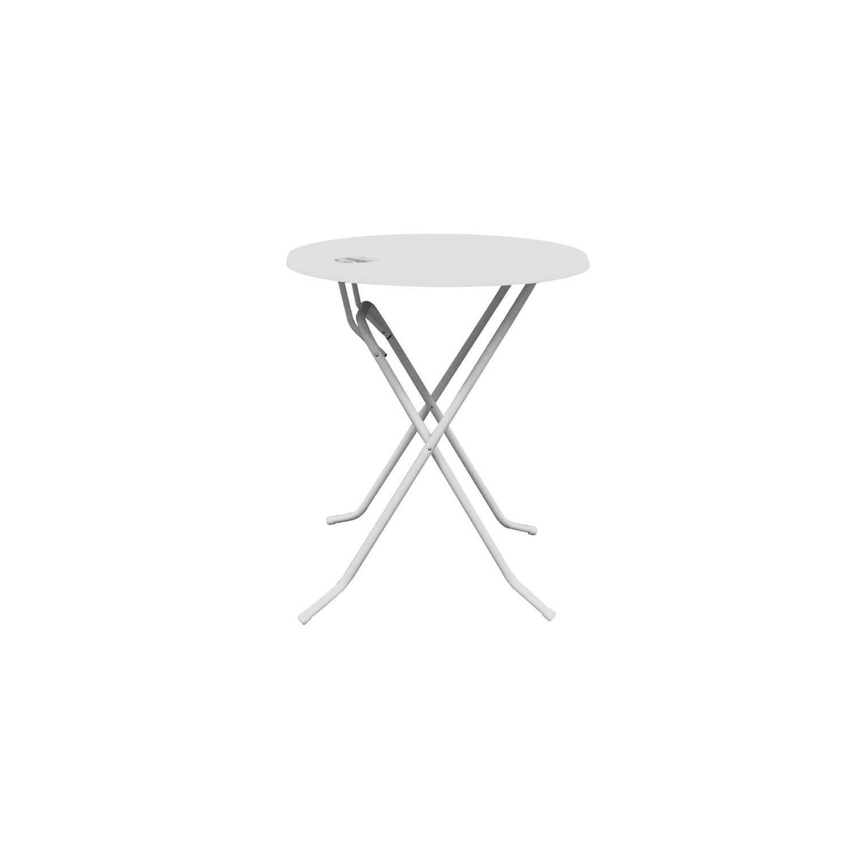 table haute dubai 85cm blanche geen merk. Black Bedroom Furniture Sets. Home Design Ideas