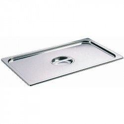Couvercle GN1/2 Bourgeat inox BOURGEAT Couvercles inox pour bacs GN